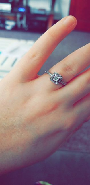 Your Engagement Ring: Total Surprise, Some Input, or Picked it Out Yourself? 8