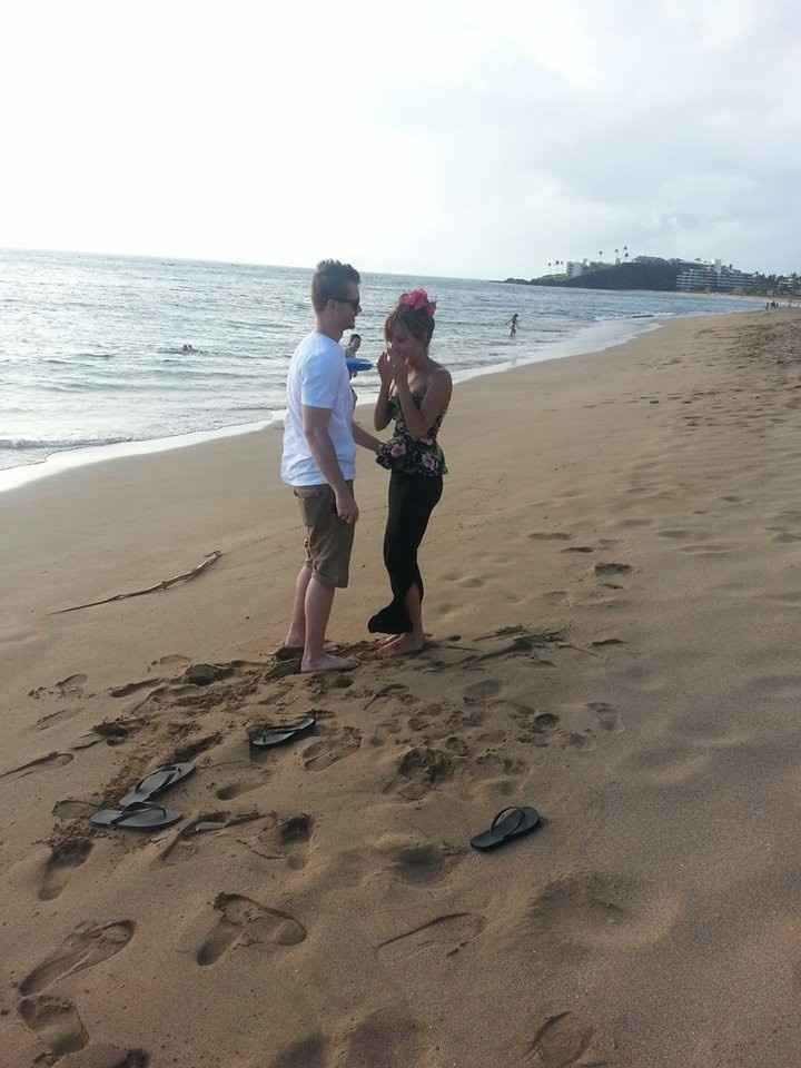 Here's how he proposed! (pics) How did your proposal go!?!