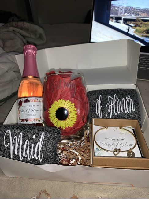 Bridesmaids proposal boxes! 6