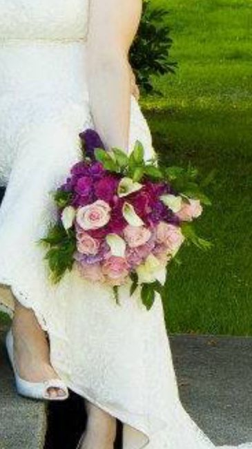Has anyone else decided on doing their own bouquet? 2