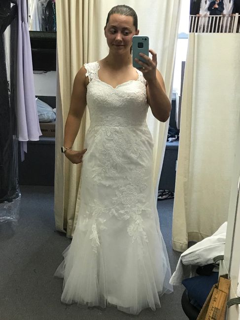 Picked up my dress from the seamstress! 1