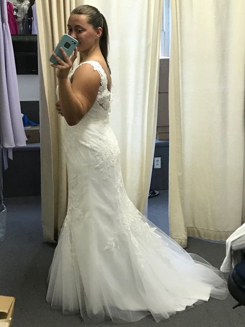 Picked up my dress from the seamstress! 2