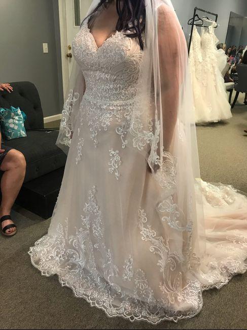 i love my dress but I'm nervous it's not bridal enough 2