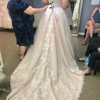 i love my dress but I'm nervous it's not bridal enough - 1