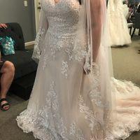i love my dress but I'm nervous it's not bridal enough - 2
