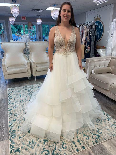 finally found my dress! 1
