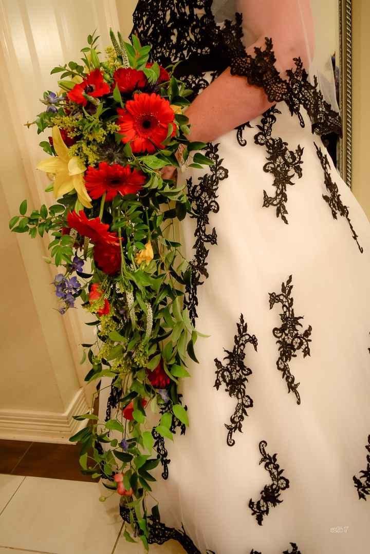 Advice on wedding flowers