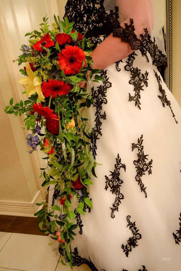 Oceankissed' cascade bouquet.