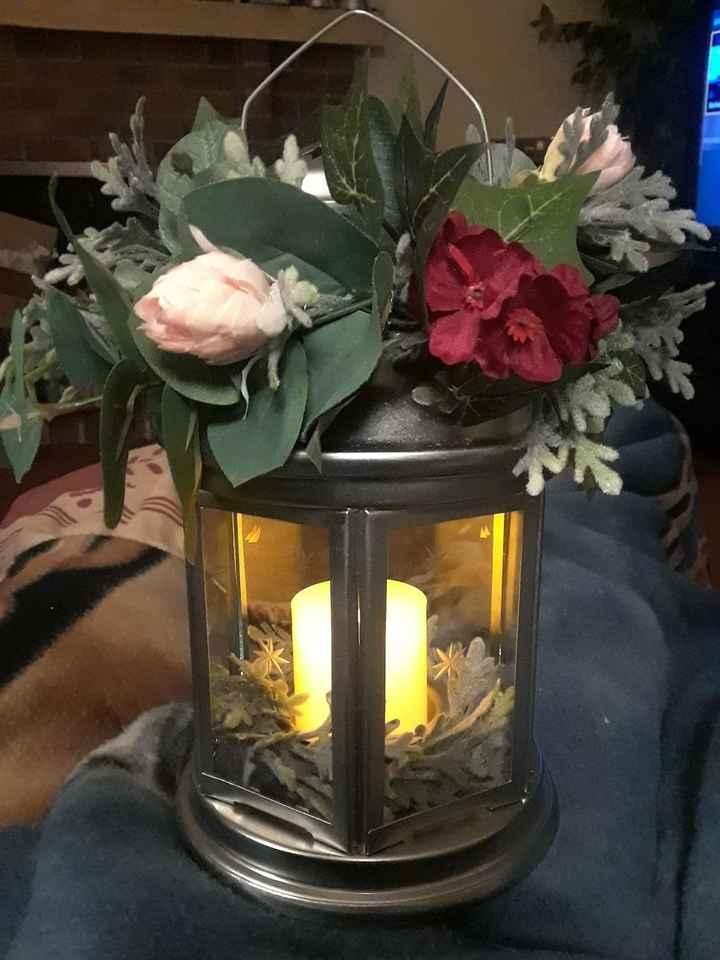 Bridesmaid lantern bouquet - 2