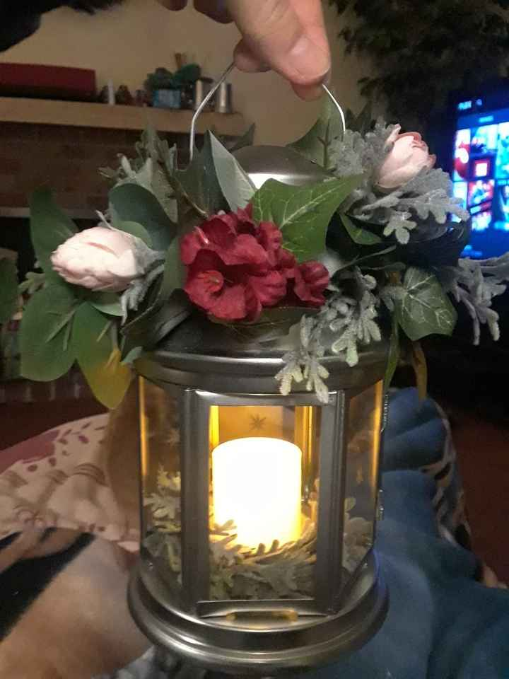 Bridesmaid lantern bouquet - 3