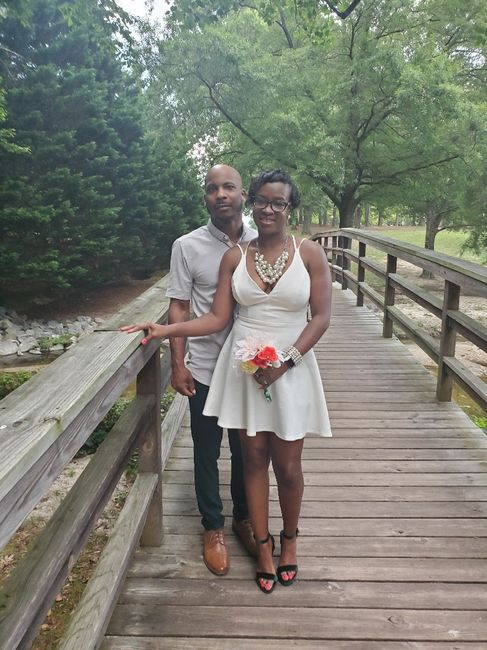 Married on our anniversary 2