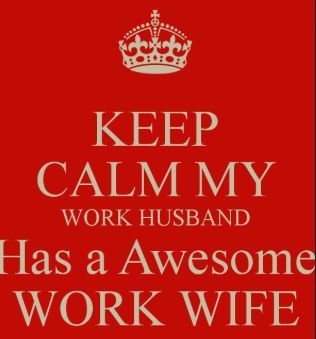 """Is It Okay to Have a """"work Wife"""" or """"work Husband""""? 1"""