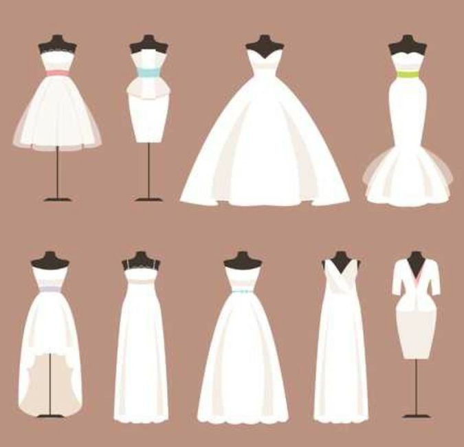 Would You Let Your Bridesmaids Wear Their Own Wedding Dress To Your Ceremony? 1