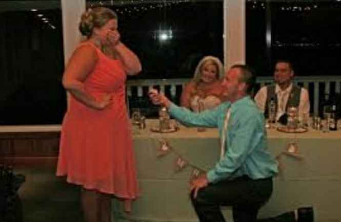 a Proposal At The Wedding - 1