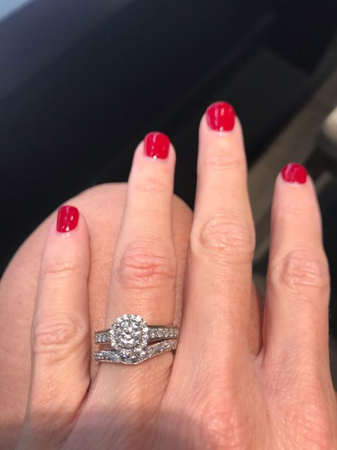 Does this band look okay with my ring? - 1