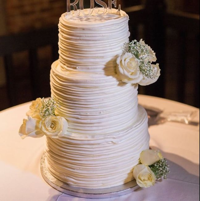 Their Wedding Cakes Are Really Nice And So Delicious Heres Ours