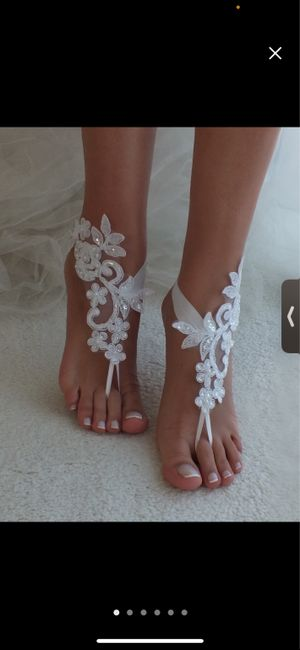 Shoes for beach wedding? 1