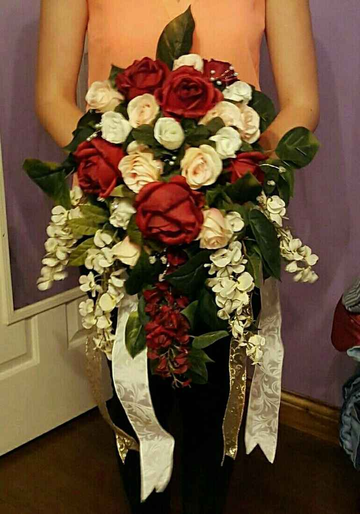 Diy bridesmaid bouquet using fake flowers