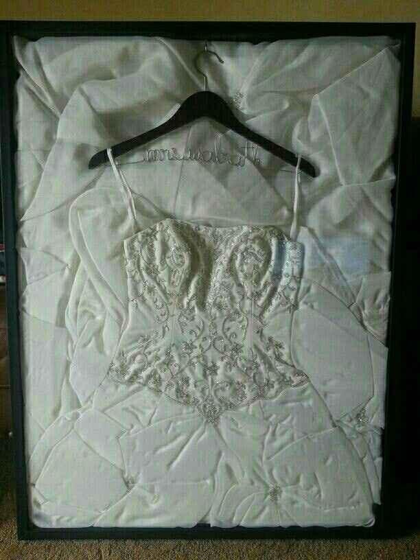 Framing your dress