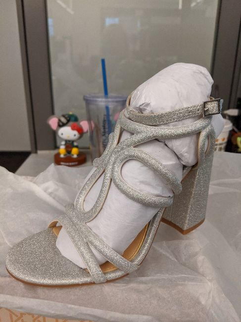 Wedding day shoes 7