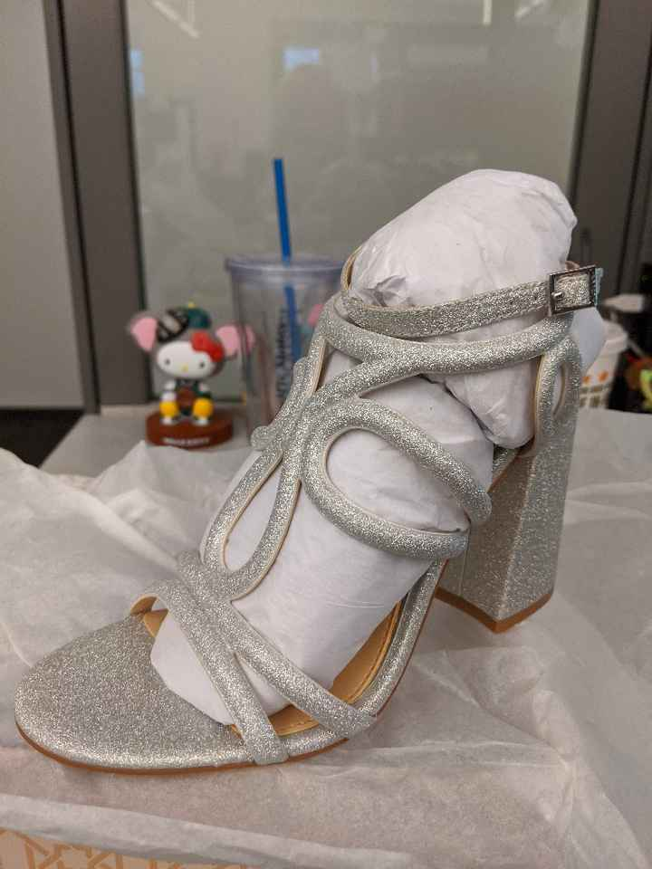 Wedding day shoes - 1