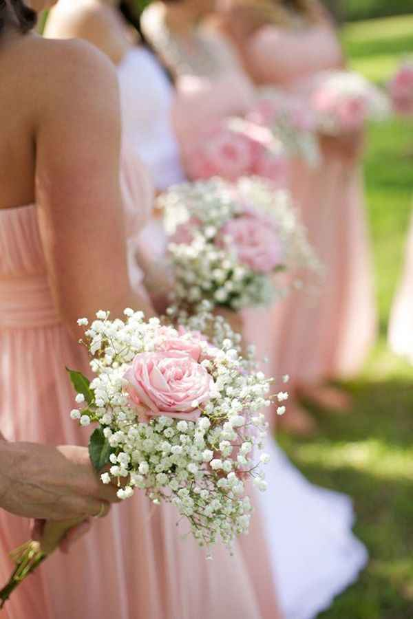 Bridesmaid Bouquet Ideas - 1