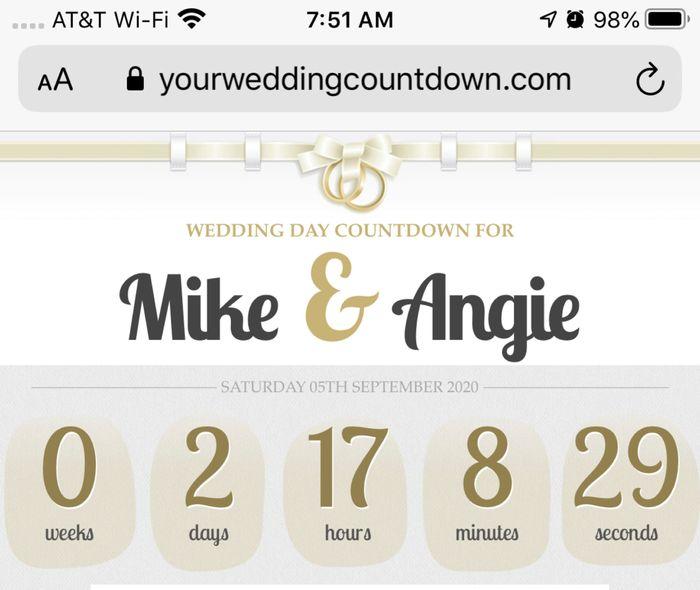 Micro-wedding 9/5/2020 1