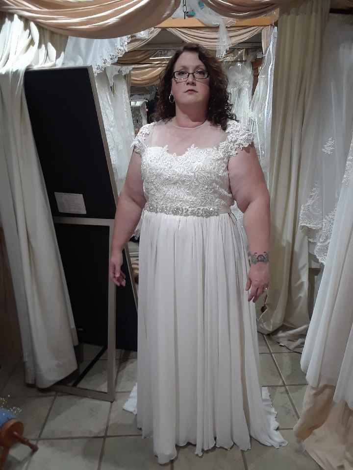 Any Plus Size Brides Out There? - 1