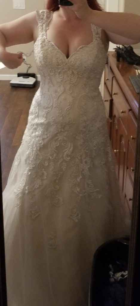 Nontraditional wedding dress - 1