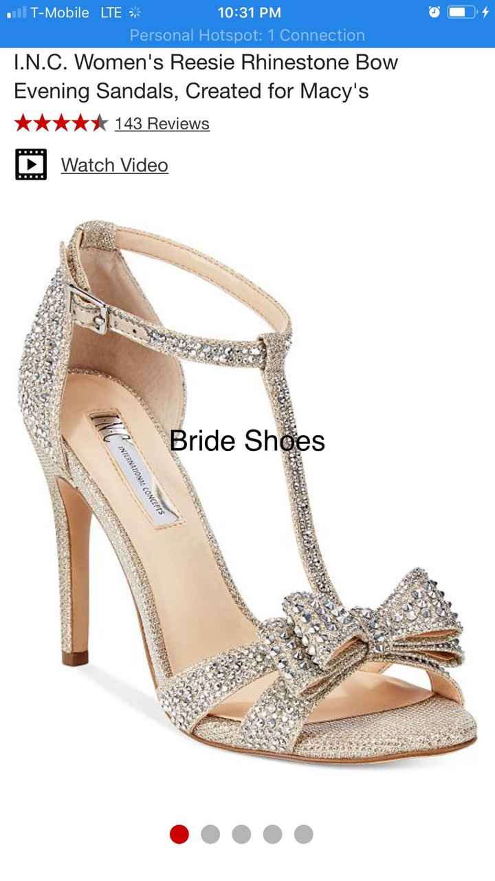 How much did your wedding shoes cost? 💸 - 1