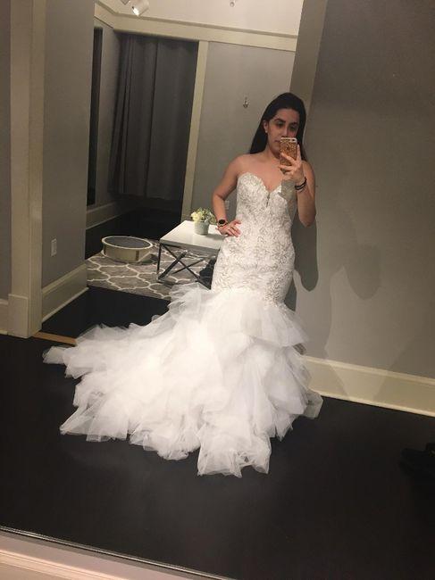 Mermaid/trumpet wedding gowns! 15