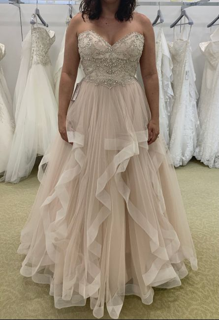 Styling for a Blush Gown 1
