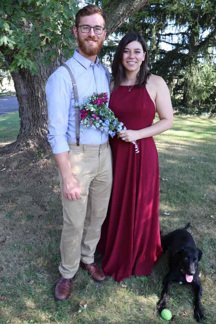 Engagement Photo Dress - 1
