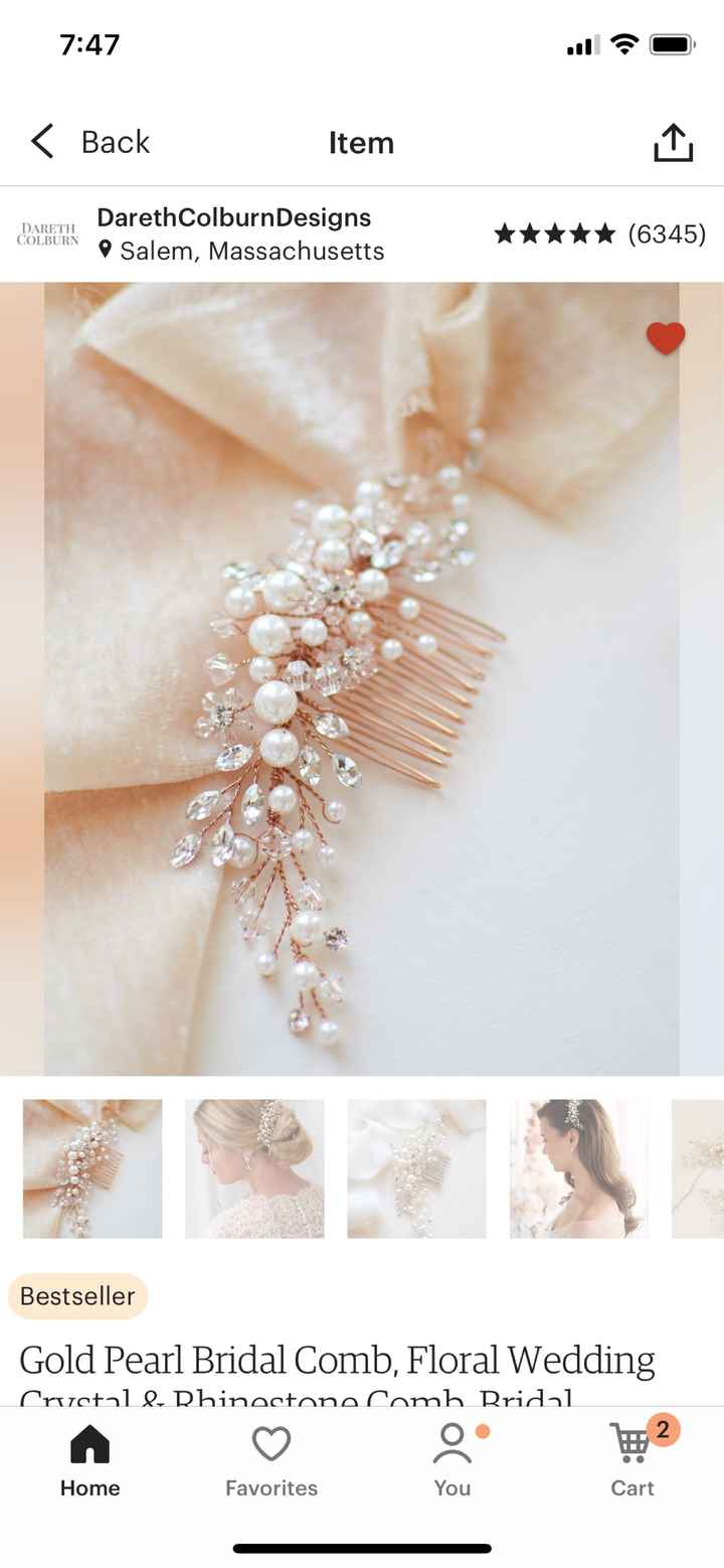 Styling for a Blush Gown - 2