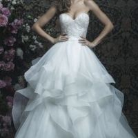 nyc Metro Area Bride Used Dress for Sale !!! Ballgown - 1
