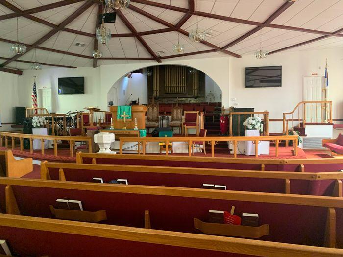 Decorating historic church 1