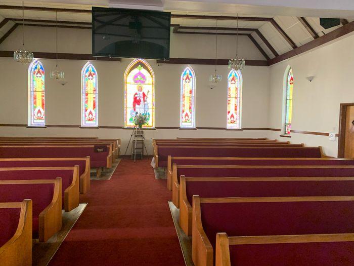 Decorating historic church 2