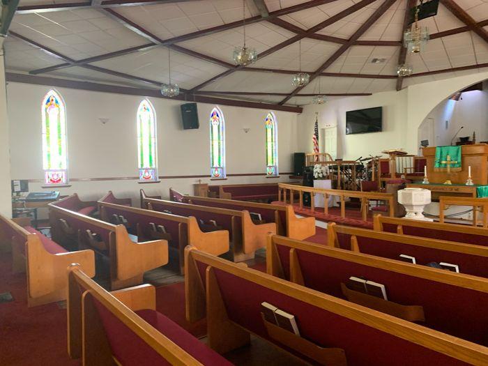 Decorating historic church 3