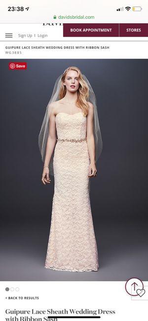 Dresses from David's Bridal 1