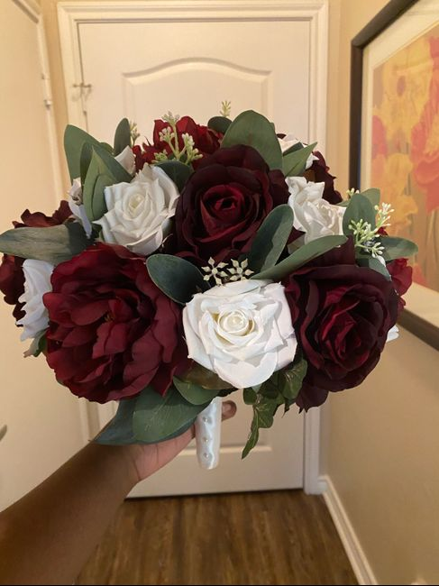 Let's share our bouquets! Followed by words of encouragement 1