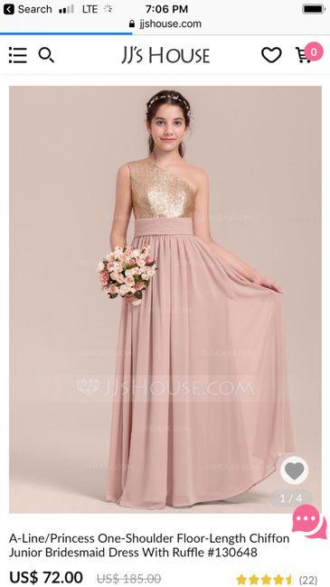 a8793ce6e48 Junior Bridesmaid Dresses Sorella Vita