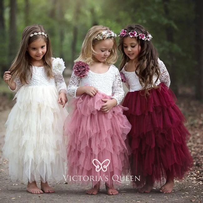 Bridesmaid ring bearer flower girl 2