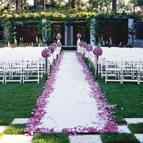 Ceremony Aisle Decor Weddings Style And Dcor Wedding Forums