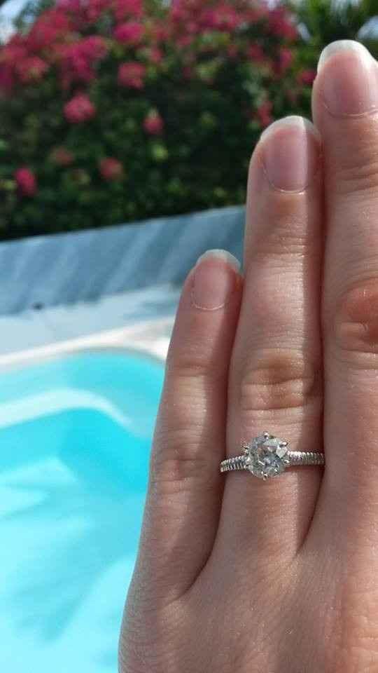 Diamond in wedding band?