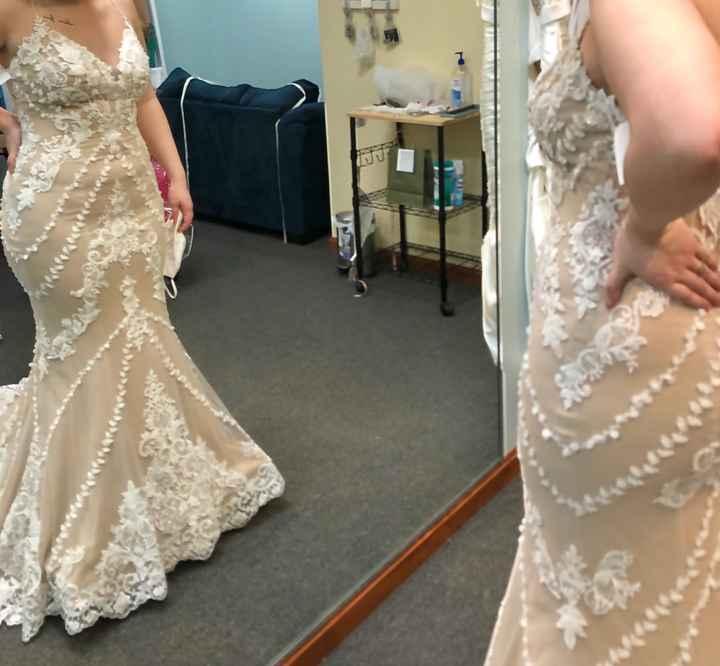 Color of Wedding Dress - 1