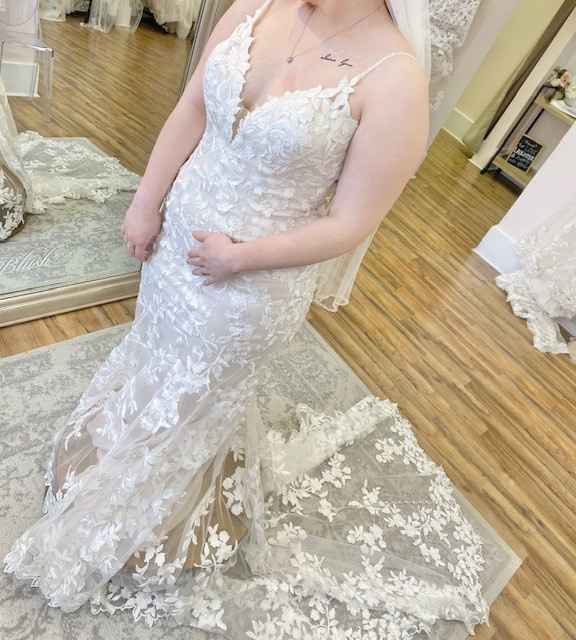 Said yes to my dress! - 1