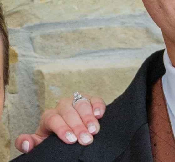 Wedding nails... Did you keep it simple or embellish?