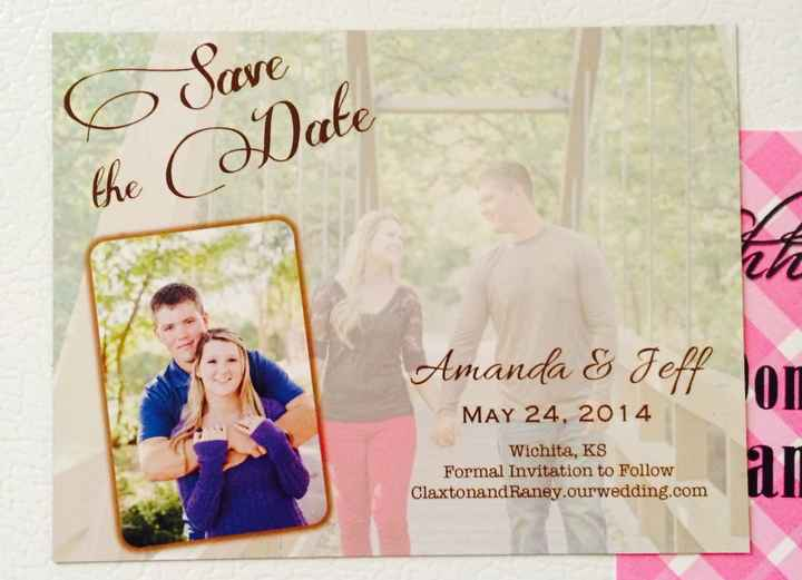 Show me your Save-the-Date!