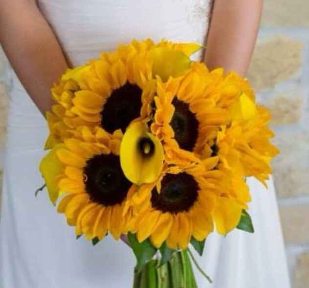 Is your bouquet neutral/ivory or bolder colors? Show me!