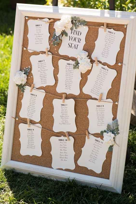 Where did you buy your seating chart? Etsy? Zazzle?
